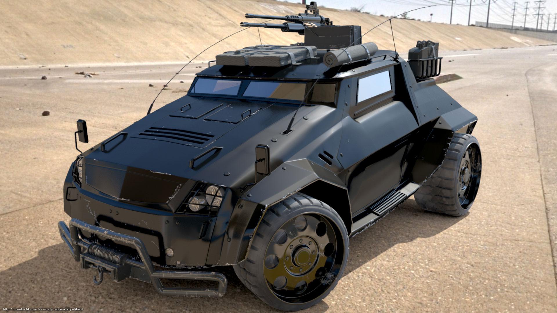 The Light Assault & Recon Vehicle (LARV) - Michael Boeni - 3D vehicle ...