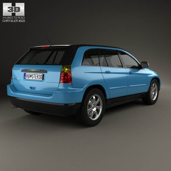 chrysler pacifica 2006 3d model humster3d. Cars Review. Best American Auto & Cars Review
