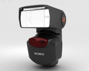3D model of Sony HVL-F43AM External Flash
