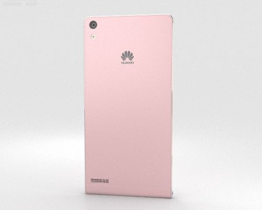 3D model of Huawei Ascend P6 S Pink