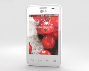 3D model of LG Optimus L3 II Dual E435 White
