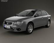 3D model of Mitsubishi Lancer Fortis 2013