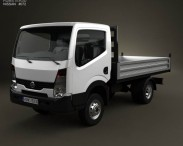 3D model of Nissan Cabstar Tipper Truck 2006