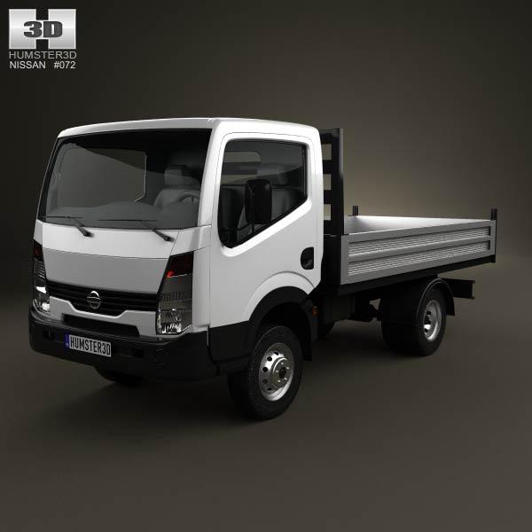 3D model of Nissan Cabstar Tipper Truck 2006