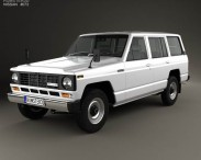 3D model of Nissan Patrol (160) 1980