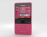 3D model of Nokia Asha 210 Pink