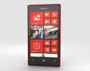 3D model of Nokia Lumia 520 Red