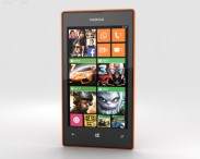 3D model of Nokia Lumia 525 Orange
