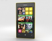 3D model of Nokia Lumia 525 Yellow