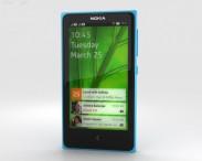 3D model of Nokia X Cyan