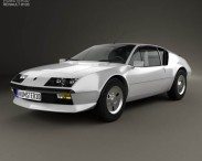 3D model of Renault Alpine A310 1976