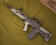 3D model of SA80 L85A1