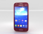3D model of Samsung Galaxy Ace 3 Red