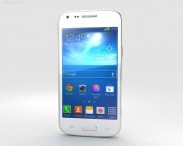 3D model of Samsung Galaxy Core Plus White