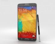 3D model of Samsung Galaxy Note 3 Neo Black