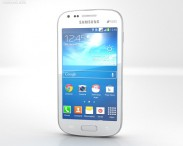3D model of Samsung Galaxy S Duos 2 S7582 White