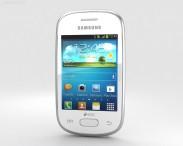 3D model of Samsung Galaxy Star White