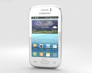 3D model of Samsung Galaxy Young White