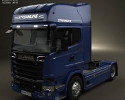 3D model of Scania R 730 Tractor Truck 2013