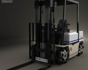 3D model of Vetex Sidewinder ATX 3000 Forklift 2011