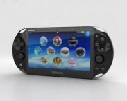 3D model of Sony PlayStation Vita Slim
