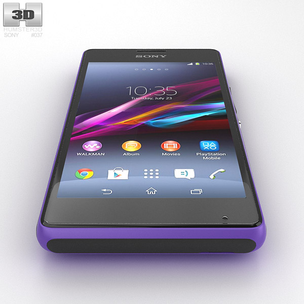 Xperia e1 purple
