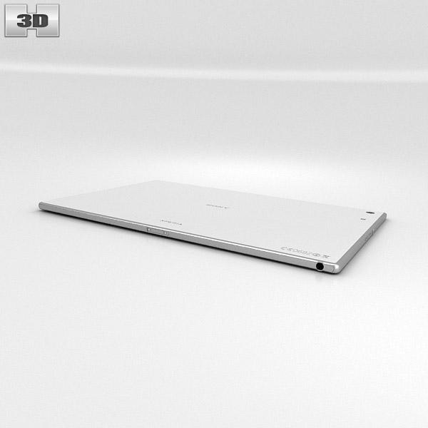 3D model of Sony Xperia Tablet Z2 WhiteXperia Z2 Tablet White