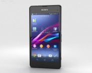 3D model of Sony Xperia Z1 Compact Black