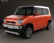 3D model of Suzuki Hustler 2013