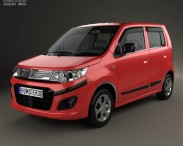 3D model of Suzuki (Maruti) WagonR Stingray 2013
