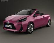 3D model of Toyota Aqua Air 2013