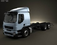 3D model of Volvo FE Chassis Truck 2006