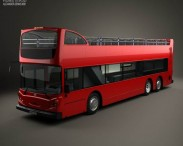 3D model of Alexander Dennis Enviro500 Open Top Bus 2005