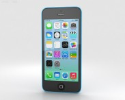 3D model of Apple iPhone 5C Blue