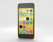 3D model of Apple iPhone 5C Yellow