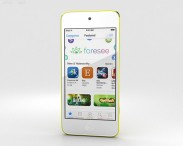 3D model of Apple iPod Touch Yellow