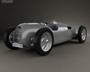 3D model of Auto Union Typ C 1936