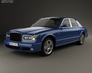 3D model of Bentley Arnage T 2002