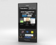 3D model of BlackBerry Z3 Black