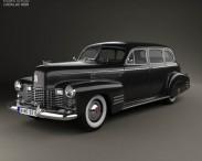 3D model of Cadillac Fleetwood 75 touring sedan 1941