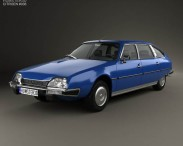 3D model of Citroen CX 1975