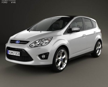 3D model of Ford C-MAX 2010