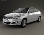3D model of Hyundai Elantra Yue Dong 2011