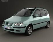 3D model of Hyundai Matrix (Lavita) 2001