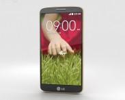 3D model of LG G2 Mini Gold