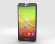 3D model of LG L90 Black