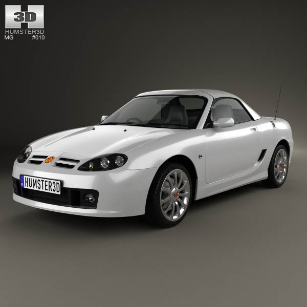3D model of MG TF 2002