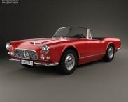 3D model of Maserati 3500 Spyder 1959