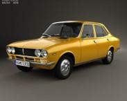 3D model of Mazda Capella (616) sedan 1974