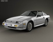 3D model of Nissan 300ZX (Z31) Turbo 1983